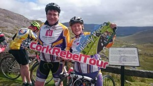 Donal and Jennifer on the Rebel Tour.