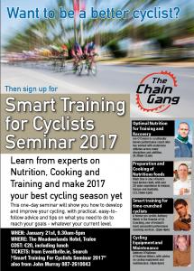 Smart Cycling Seminar 2017