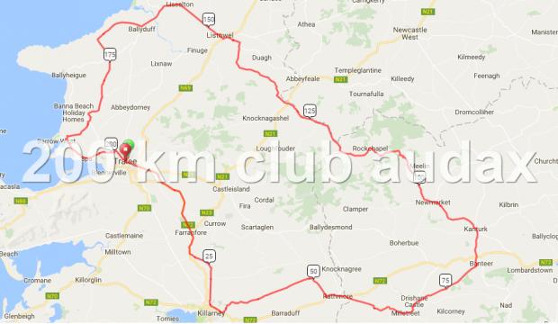 Chain Gang CC 200 km Audax
