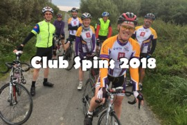 Club Spins 3rd to 8th February 2018