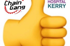Thumbs Up for University Hospital Kerry ICU.